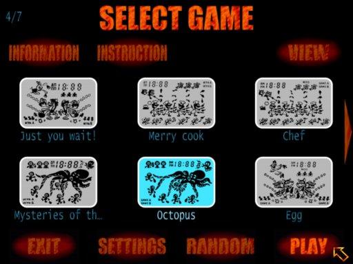 Handheld Quake – simulator of soviet, russian and foreign handheld games